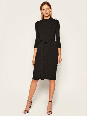 Marella Marella Úpletové šaty Oca 33260106 Čierna Regular Fit