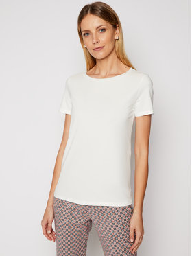 Weekend Max Mara Weekend Max Mara Tricou Multib 59710217 Alb Regular Fit
