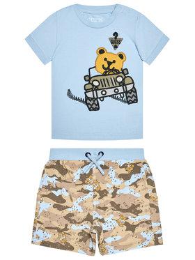 Guess Guess Komplet t-shirt i spodenki I1RG06 K8HM0 Kolorowy Regular Fit
