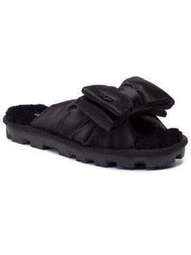 Ugg Ugg Papuče W Lushette Puffer 1106873 Čierna