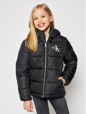 Calvin Klein Jeans Calvin Klein Jeans Geacă de iarnă Essential IG0IG00593 Negru Regular Fit