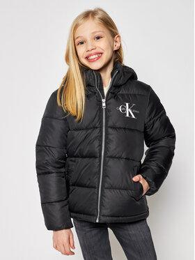 Calvin Klein Jeans Calvin Klein Jeans Télikabát Essential IG0IG00593 Fekete Regular Fit