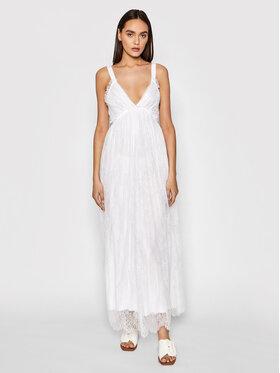 Ermanno Firenze Ermanno Firenze Лятна рокля AB34PIZ Бял Regular Fit