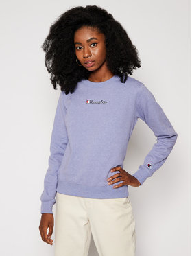 Champion Champion Sweatshirt Jaspe 113204 Violett Regular Fit