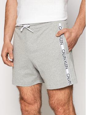 Calvin Klein Swimwear Calvin Klein Swimwear Sport rövidnadrág Terry KM0KM00611 Szürke Regular Fit