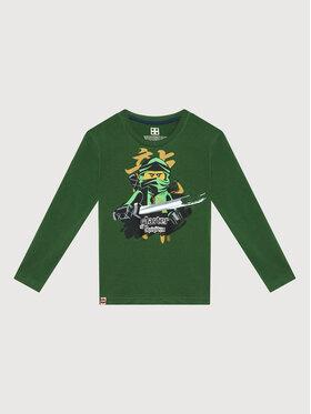LEGO Wear LEGO Wear Bluză 12010209 Verde Regular Fit