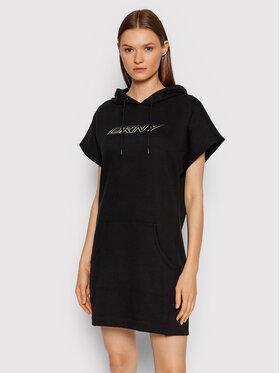 DKNY Sport DKNY Sport Плетена рокля DP1D4474 Черен Regular Fit