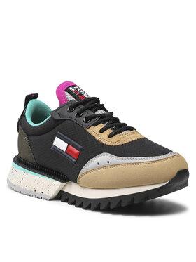 Tommy Jeans Tommy Jeans Sneakersy Wmns The Cleat EN0EN01507 Czarny