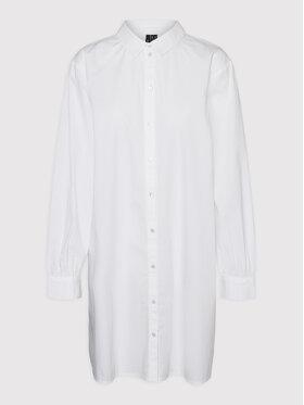 Vero Moda Curve Vero Moda Curve Koszula Bente 10259019 Biały Loose Fit