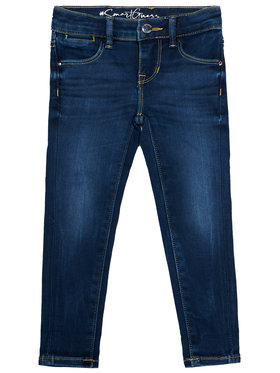 Guess Guess Jeansy K0BA08 D4652 Granatowy Skinny Fit