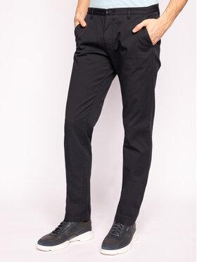 Boss Boss Bavlnené nohavice Rice3-D 50325936 Čierna Slim Fit