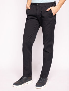 Boss Boss Pantaloni din material Rice3-D 50325936 Negru Slim Fit
