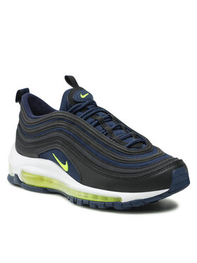 Nike Nike Topánky Air Max 97 (GS) 921522 018 Čierna