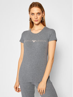 Emporio Armani Underwear Emporio Armani Underwear Póló 163139 0A317 06749 Szürke Slim Fit