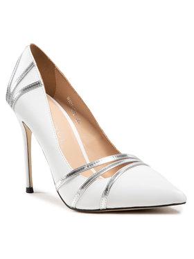 Eva Minge Eva Minge Pantofi cu toc subțire EM-35-09-001101 Alb