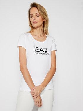 EA7 Emporio Armani EA7 Emporio Armani T-shirt 8NTT63 TJ12Z 0101 Blanc Regular Fit