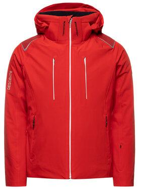 Descente Descente Lyžiarska bunda Jack DWMOGK49 Červená Tailored Fit