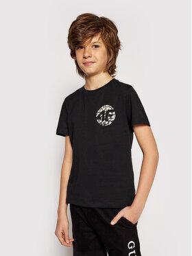 4F 4F T-Shirt HJL21-JTSM012B Schwarz Regular Fit