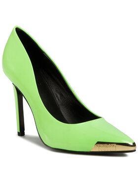 Versace Jeans Couture Versace Jeans Couture Обувки на ток E0VZAS01 Зелен