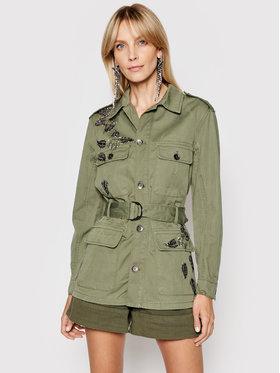 Liu Jo Liu Jo Prijelazna jakna WA1309 T4762 Zelena Regular Fit