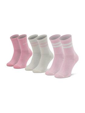 Sprandi Sprandi Súprava 2 párov vysokých dámskych ponožiek SS21-SSW004 r. OS Ružová