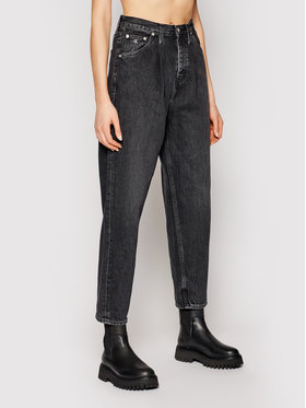 Calvin Klein Jeans Calvin Klein Jeans Дънки Baggy J20J216142 Черен Relaxed Fit