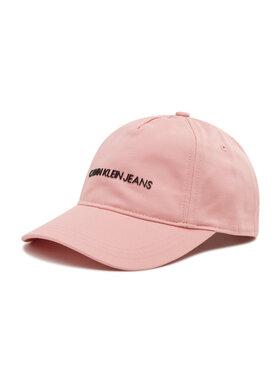 Calvin Klein Jeans Calvin Klein Jeans Καπέλο Jockey Institutional Logo Baseball Cap IU0IU00222 Ροζ