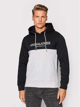 Jack&Jones Jack&Jones Bluza Urban Blocking 12190441 Czarny Regular Fit