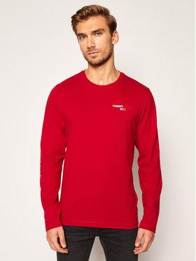 Tommy Jeans Tommy Jeans Marškinėliai ilgomis rankovėmis DM0DM09402 Raudona Regular Fit