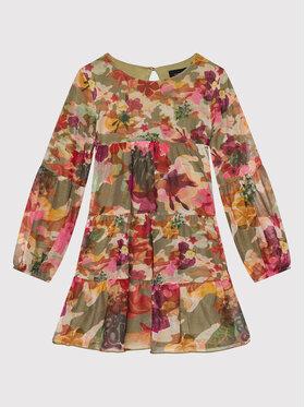 Desigual Desigual Елегантна рокля 21WGVK08 Зелен Regular Fit
