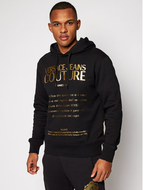 Versace Jeans Couture Versace Jeans Couture Sweatshirt B7GWA7TW Noir Regular Fit