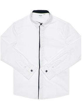Boss Boss Πουκάμισο J25G53 S Λευκό Slim Fit