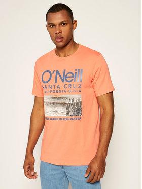 O'Neill Tričko Surf 0A2328 Oranžová Regular Fit