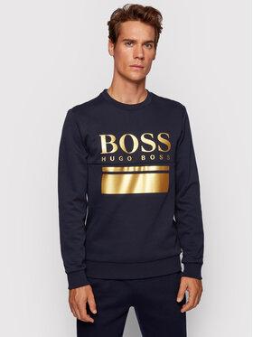 Boss Boss Bluza Salbo 1 50434921 Granatowy Slim Fit