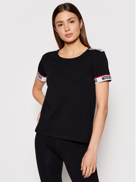 MOSCHINO Underwear & Swim MOSCHINO Underwear & Swim T-Shirt ZUA1918 9003 Czarny Regular Fit
