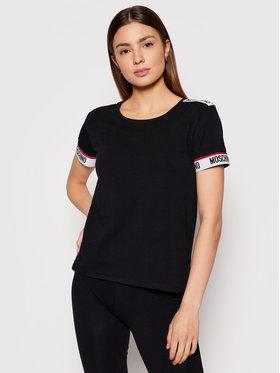 MOSCHINO Underwear & Swim MOSCHINO Underwear & Swim T-shirt ZUA1918 9003 Nero Regular Fit