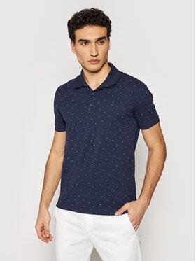 Lacoste Lacoste Тениска с яка и копчета PH0158 Тъмносин Slim Fit