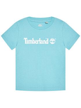 Timberland Timberland T-shirt T25S28 S Bleu Regular Fit