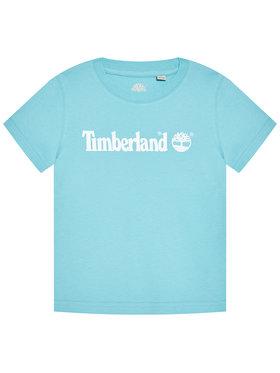 Timberland Timberland T-Shirt T25S28 S Modrá Regular Fit