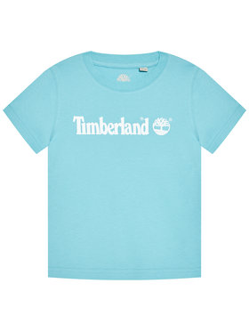 Timberland Timberland Тишърт T25S28 S Син Regular Fit