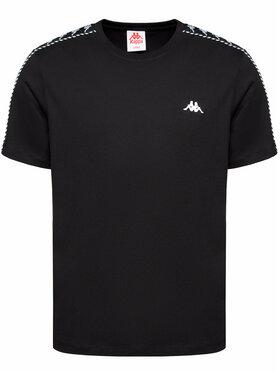 Kappa Kappa T-Shirt Ilyas 309001 Czarny Regular Fit