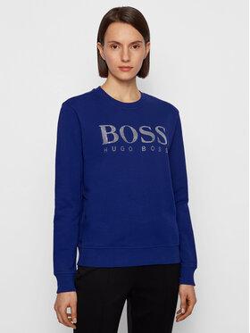 Boss Boss Pulóver C_Ebossa 50442497 Lila Regular Fit
