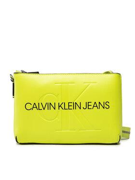 Calvin Klein Jeans Calvin Klein Jeans Дамска чанта Sculpted Shoulder Pouch Mono K60K608689 Жълт