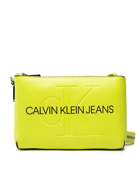 Calvin Klein Jeans Calvin Klein Jeans Kabelka Sculpted Shoulder Pouch Mono K60K608689 Žltá