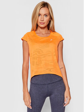 Asics Asics Koszulka techniczna Ventilate 2012B912 Pomarańczowy Regular Fit
