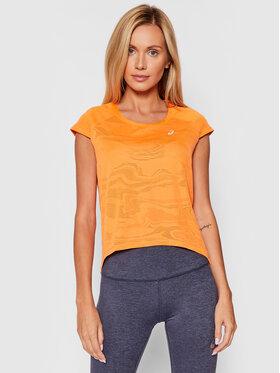 Asics Asics Тениска от техническо трико Ventilate 2012B912 Оранжев Regular Fit