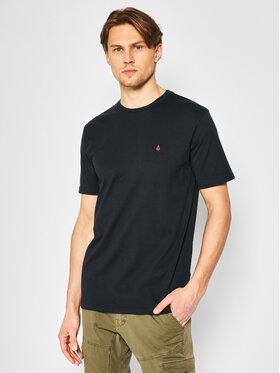 Volcom Volcom T-Shirt Stone Blanks Bsc A3512056 Μαύρο Modern Fit