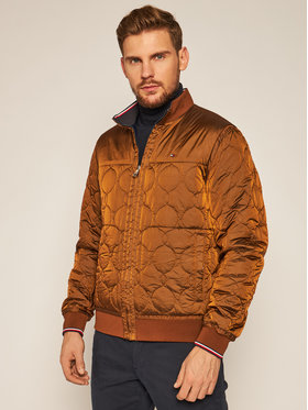 TOMMY HILFIGER TOMMY HILFIGER Geacă bomber Reversible Onion Quilted MW0MW14879 Colorat Regular Fit