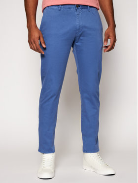 Joop! Jeans Joop! Jeans Spodnie materiałowe 15 Jjf-19Steen-D 30023721 Niebieski Slim Fit