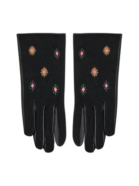 Desigual Desigual Dámske rukavice 21WAAP01 Čierna